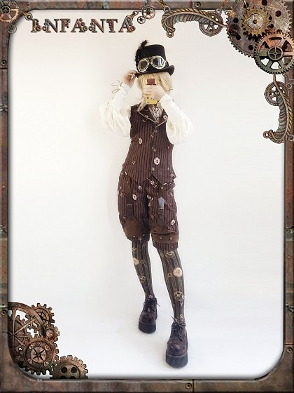 Mechanical Doll Waistcoat by Infanta