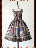 Book of Potions Printing JSK with Tie by Infanta