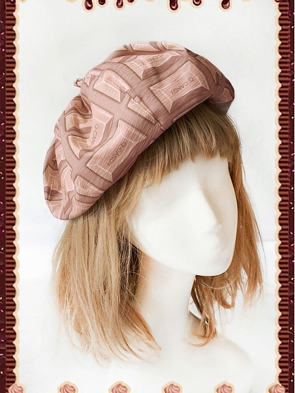 Doughnut and Doughnut Beret by Infanta