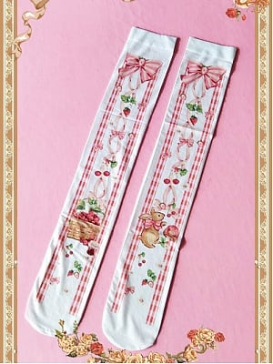 Picnic Bunnies Collection Stockings By Infanta