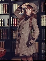 The Fog Of Baker Street Ouji Coat-Female Version By Infanta