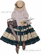 Jeanne and Mentha Tea   Rural Patchwork SK by Jewelry Sunrise