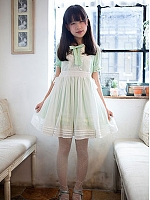Delicate Overall-Styled Apron by Jewelry Sunrise