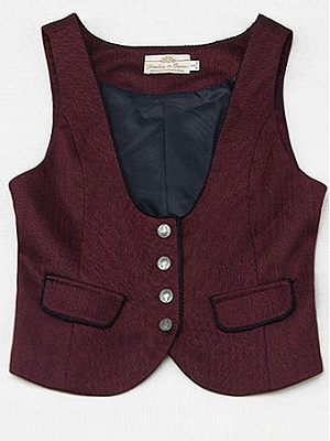 Basic Englishness Vest by Jewelry Sunrise