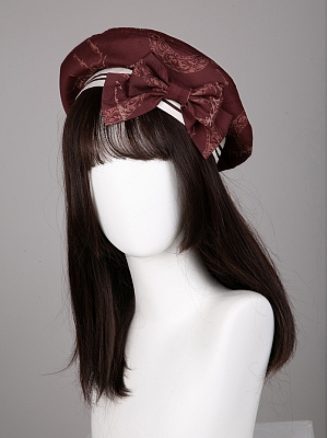 The British Journey Lolita Series Beret by KIHOLS