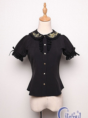 A Mad Tea Party Blouse  by Krad Lanrate