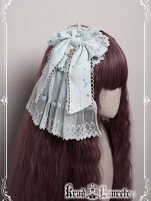 Lost in Sea Blue Hairclip by Krad Lanrete
