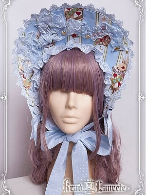 The Red Queen's Wander Collection Standing Bonnet by Krad Lanrete