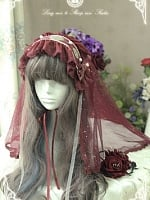 Blood Moonlight Waltz Hairband by Long Ears And Sharp Ears