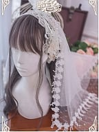 little Flower Peri Hairband Veil by Long Ears and Sharp Ears