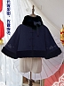 PINK-UP Panda Short Cape By Long Ears And Sharp Ears