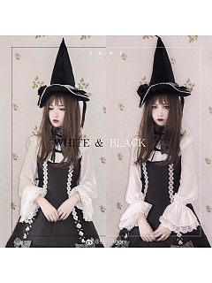 Witch's Praise Hat and Hairband by Laplacian Witch