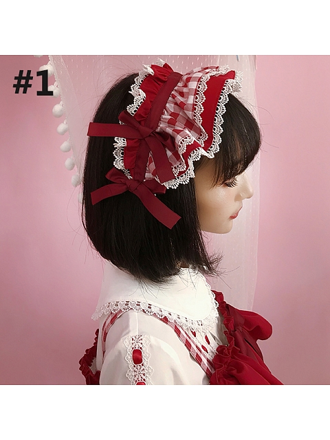 Raspberry Mousse Hairband by Little Dipper