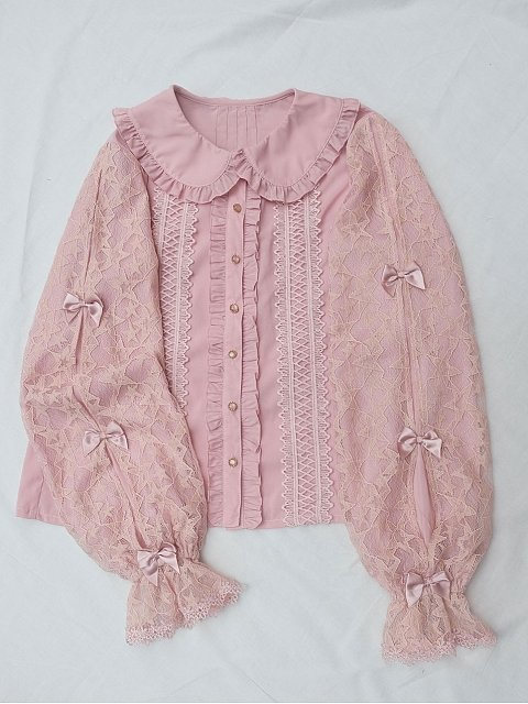 Sleeping Stars Dual-Layer Blouse by Little Dipper