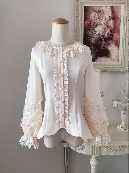 Glass Fence Long Sleeve Blouse by Little Dipper