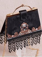 Pre-order The Night Tassel Metal-Frame Handbag by Lee's Theatre