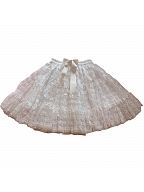 Edwardian Era Jacquard Short Version Skirt by LeFlacon