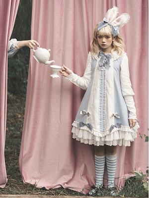 Alice in The LeMiroir Series Ouji Lolita Dress OP by Lemiroir