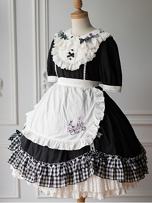 Teacup Alice Cotton Lolita Dress OP by Little Fairy Tale