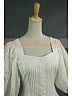 Victorian Cotton Lace Riding Shirt Reenactment Theater Costume by Lace Garden