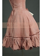 Custom Size Available Two-Pieces Dress with Inner Petticoat by Lace Garden