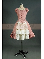 Lolita Princess   Ruffled Dress Cosplay  Theaterical  Costume by Lace Garden