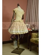 Lolita Retro Flounce Lace Blouse Ball Gown Skirt by Lace Garden