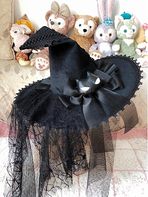The Potion is Being Prepared Halloween Lolita Witch Hat by LHSJ