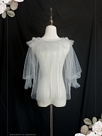 Never Know the Florescence Lace Blouse by Lili House