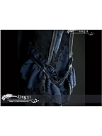 Pre-order Blood Hunt Gothic Lace Stand Collar Blouse by LingXi