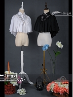 Song of the Other Shore Gothic Lolita Cape by Lingxi