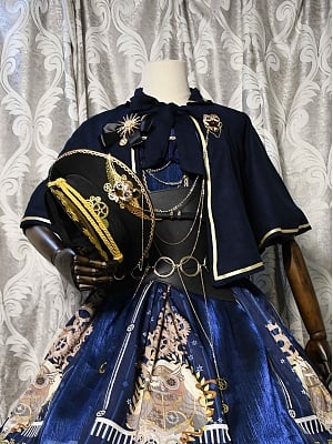 Ode to Athena Lolita JSK Matching Mantle by LOTUS Lolita