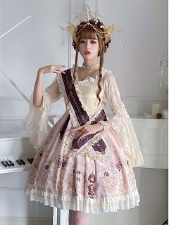 The Palace of Sin Gothic Lolita Dress JSK Short Version by Life Like A Dream