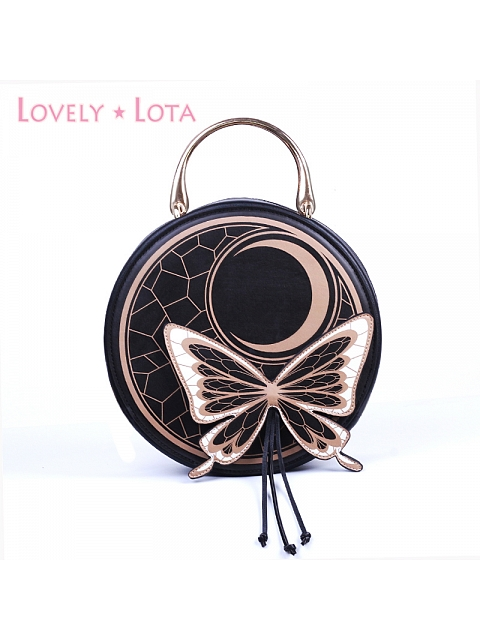 Butterfly and Moon Bag by Lovely Lota