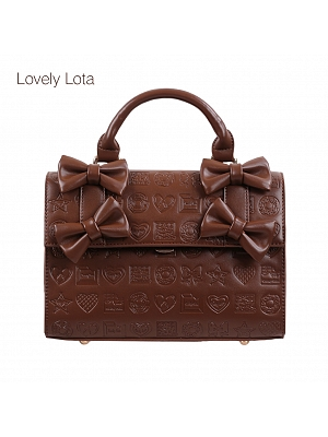 Chocolate Sweetheart Bag by Lovely Lota