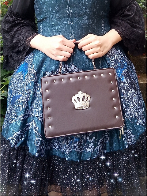 Gothic Style Shoulder Bag by Loris