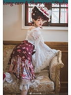 Custom Size Available Eternal Love Song Lolita Mermaid Skirt by Long ears & Sharp ears Studio