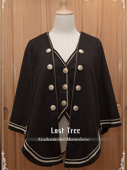 Akademie der Meeresbriste Fake Two-pieces Cape by Lost Tree