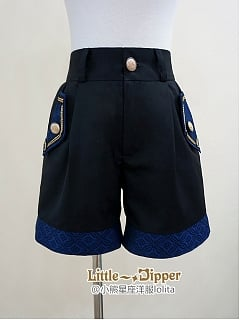 Heraldic of Vows Boystyle Short Pants by Little Dipper
