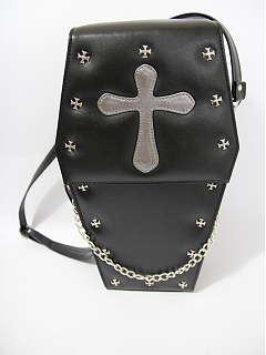 Gothic Coffin Bag by Loris