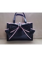 Big Bow Decoration Satchel by Loris
