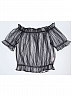 Shiny Daily Long and Short Sleeved Blouse by Mary