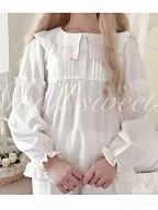 Sweetheart Cute Pullover Blouse by Mary