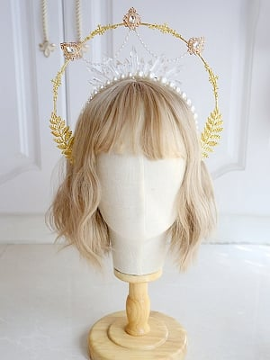 DIY Lolita Headpiece Accessories Package Pearls Crystals by Miss Bunny