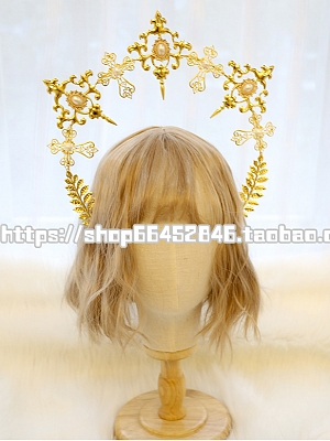 DIY Lolita Headpiece Accessories Package Hollow Handmade by Miss Bunny