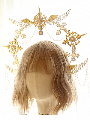 DIY Lolita Headpiece Accessories Package Wings by Miss Bunny