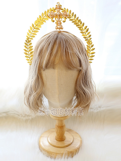 Gorgeous DIY Lolita Angel Headpiece Accessories Package Miss Bunny