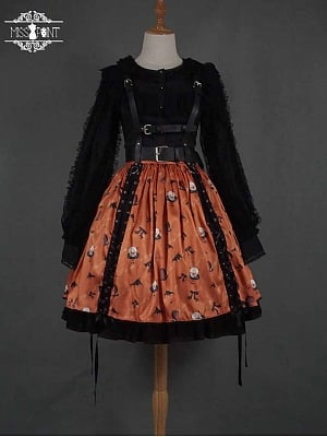 Halloween Gothic Lolita Skirt by Miss Point