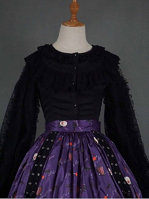 Halloween Gothic Lolita Blouse by Miss Point