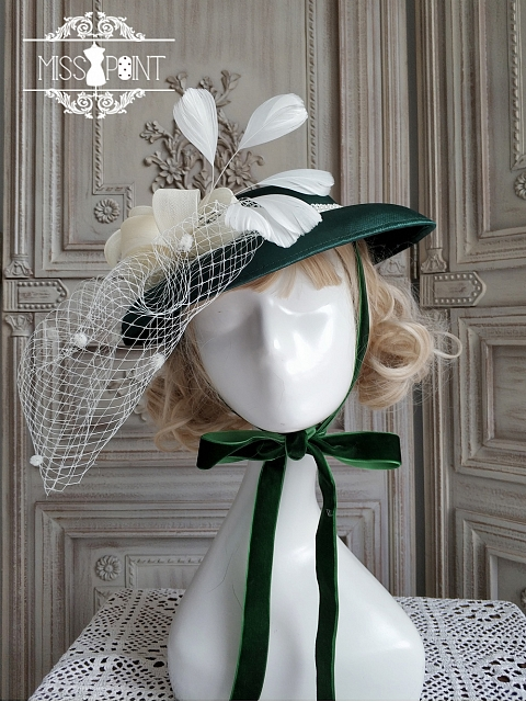 Mrs Jennifer Hat and Bonnet by Miss Point